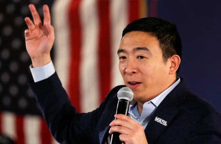 Entusiasta de criptoativos Andrew Yang desiste de candidatura a presidência dos EUA