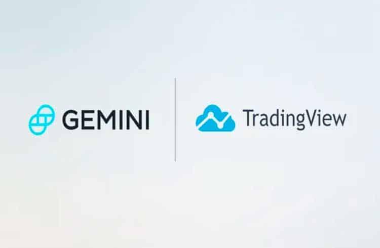 Exchange Gemini anuncia integração com TradingView