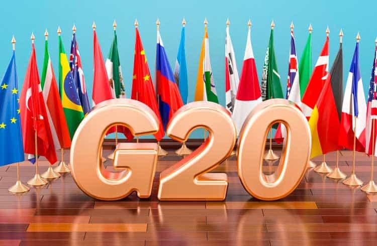 G20 pede que países implementem padrões cripto estabelecidos pelo GAFI