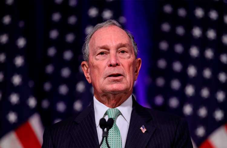 Pré-candidato presidencial dos EUA, Michael Bloomberg, promete 'estrutura reguladora clara' para criptomoedas