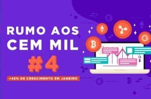 RUMO AOS 100 MIL #04 | CRESCIMENTO DE 48% EM JANEIRO