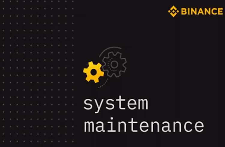 Binance anuncia manutenção de emergência e interrompe serviços por duas horas