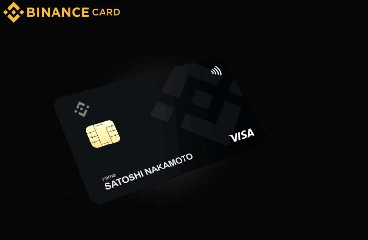 Binance anuncia cartão de débito Visa