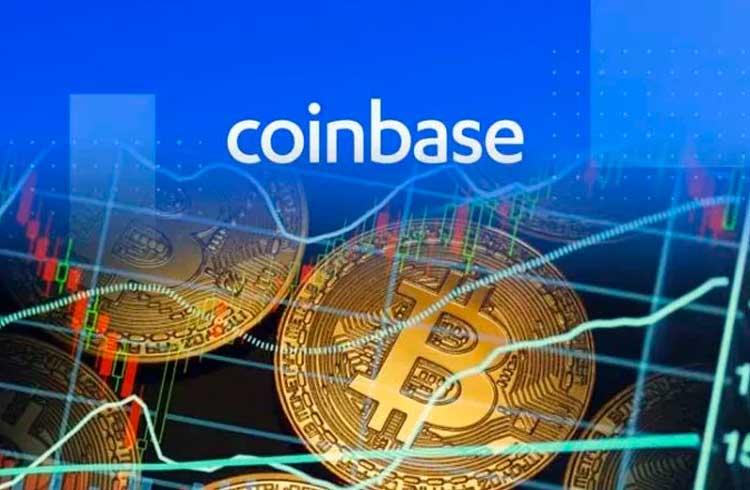 Coinbase registrou recorde de compras de Bitcoin na quebra do mercado deste mês