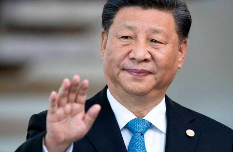 Presidente da China elogia blockchain novamente e diz que ela promove governança social