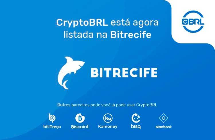 CryptoBRL agora tem suporte na exchange brasileira BitRecife