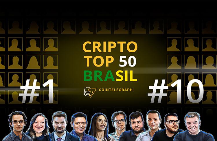 Agência publica os 10 nomes mais influentes da criptoesfera brasileira