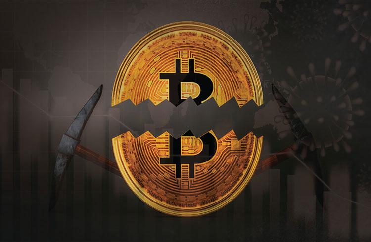 Bitcoin reduz recompensas após passar pelo seu terceiro halving