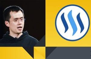 CEO da Binance se posiciona sobre polêmica entre Justin Sun e Steem