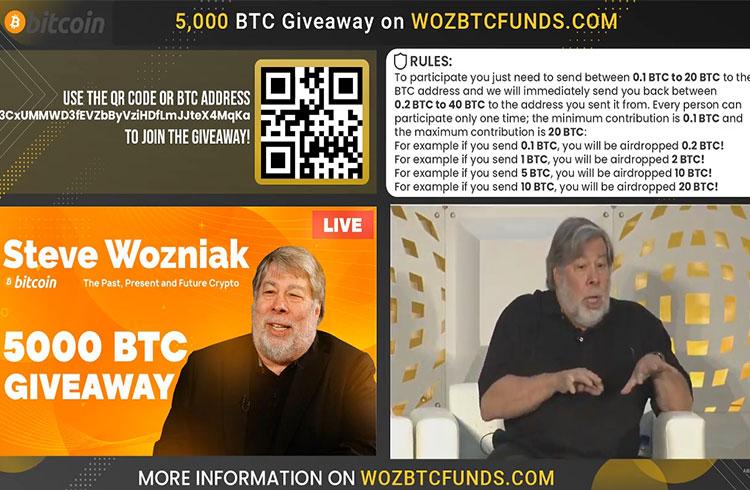 Lives falsas no YouTube usam imagens de famosos e halving para roubar Bitcoin