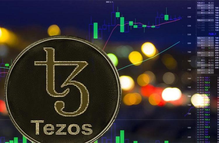 Tezos valoriza quase 5% enquanto Bitcoin segue preso nos R$ 56.000