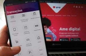 Ame anuncia 10% de cashback para quem transferir auxílio emergencial para carteira digital
