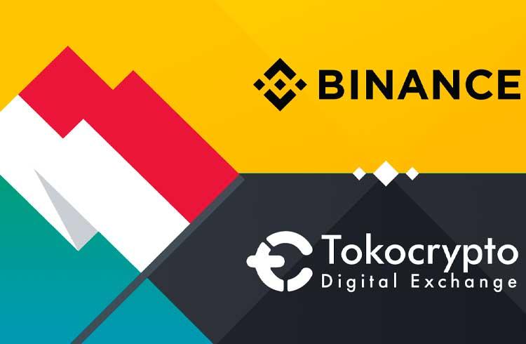 Binance anuncia investimento em exchange asiática