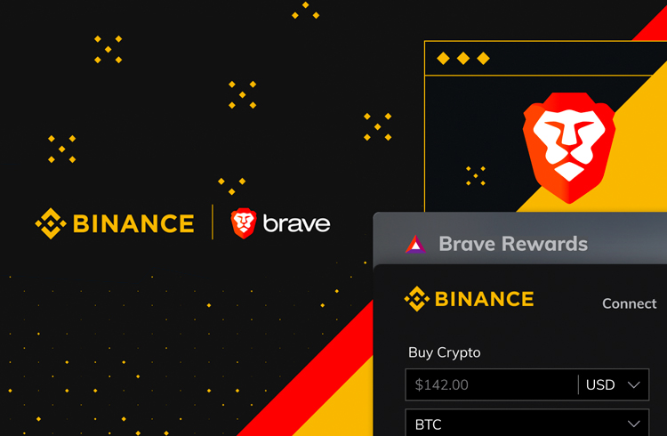 Binance lança nova aplicação para navegador Brave