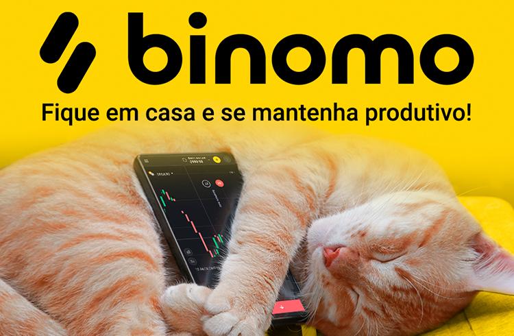 Binomo ensina gratuitamente sobre trade para quem quer ganhar de casa