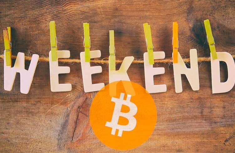 Bitcoin segue para o fim de semana acima de R$ 55.000
