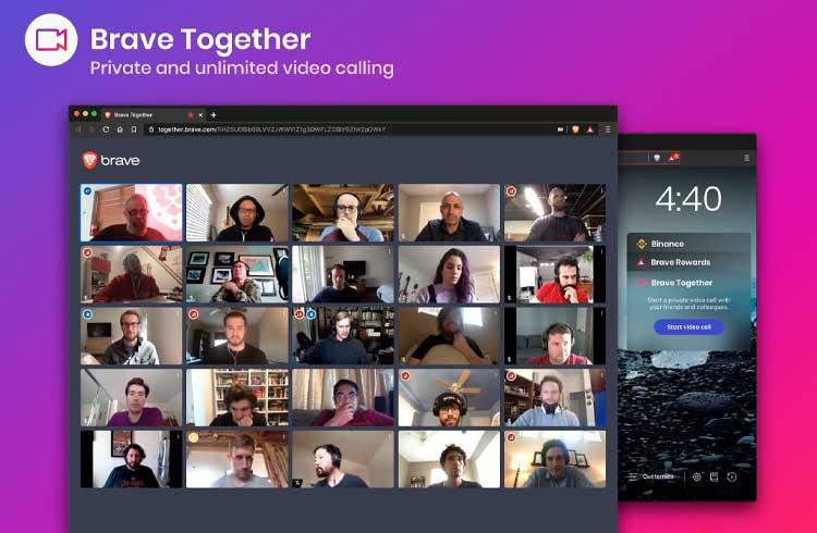 Brave anuncia lançamento de serviço de videoconferência para competir com Zoom