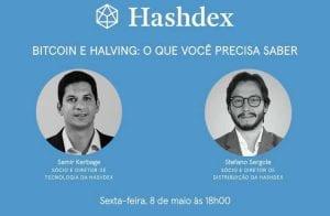 Gestora Hashdex abordará Bitcoin e halving em Live nesta sexta