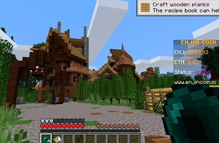 Jogadores de Minecraft poderão criar seus próprios ativos em blockchain