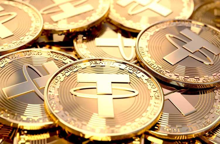 Tether supera o XRP e se torna a terceira maior criptomoeda do mercado