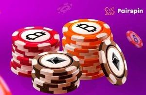 Usuários já ganharam US$ 15 milhões no Fairspin Blockchain Cassino