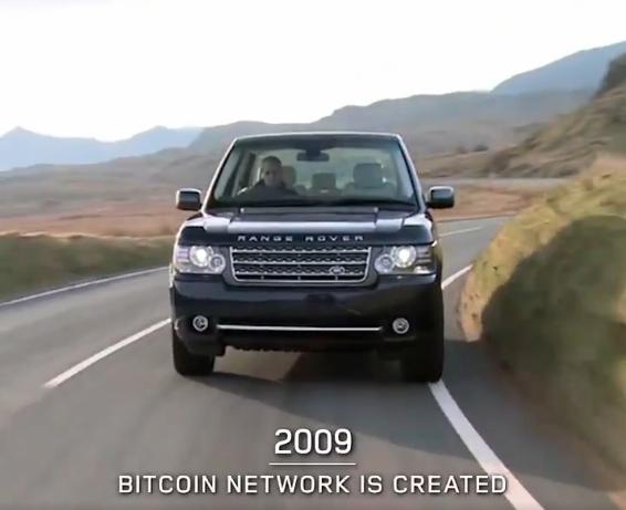 Bitcoin e Land Rover
