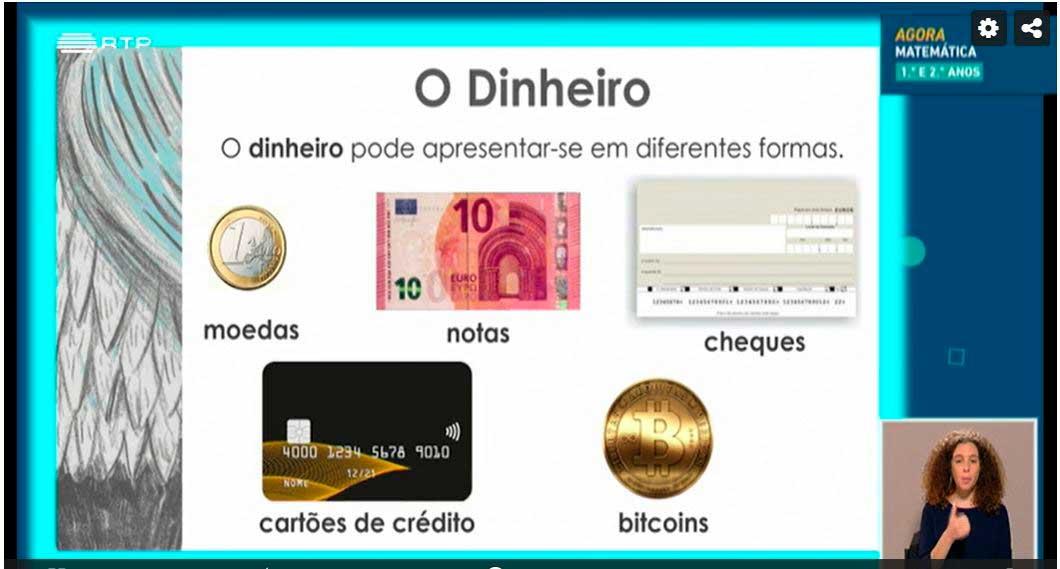as diferentes forma do dinheiro