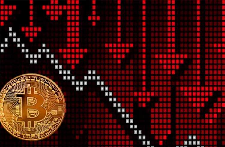 Bitcoin cai 3% e continua parado em R$ 47.000