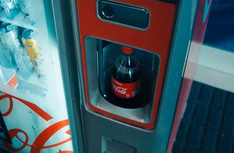 Máquinas de refrigerante Coca-Cola aceitam pagamento em Bitcoin