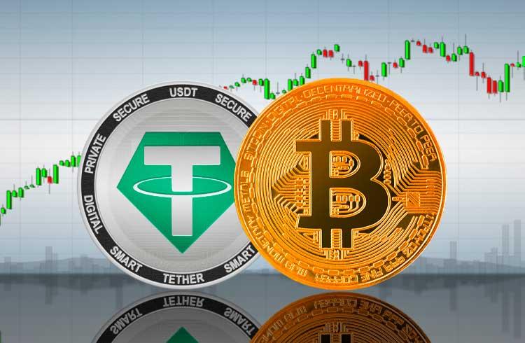 Pela primeira vez transações de USDT no Ethereum superam as de Bitcoin