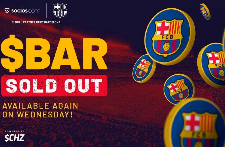 """Plataforma de token do Barcelona entra em colapso durante """"oferta inicial de fãs"""""""