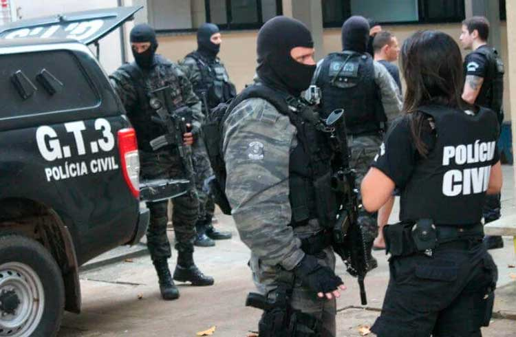Polícia prende suspeito de aplicar golpe de R$ 1 milhão envolvendo Bitcoin e bancos digitais