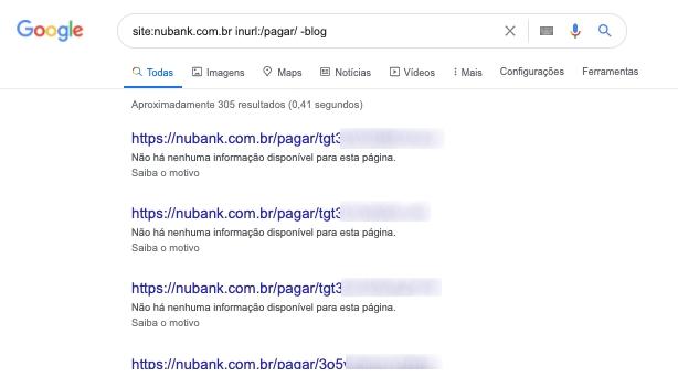 print de dados vazados pelo nubank