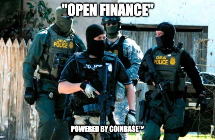 Coinbase vende software para analisar blockchain ao governo dos EUA