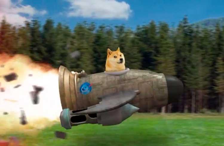 Dogecoin valoriza 19% após Elon Musk publicar meme sobre a criptomoeda
