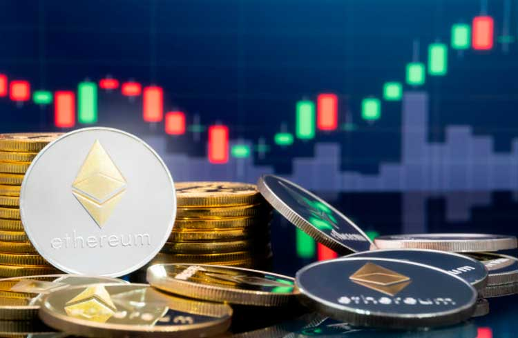 Ethereum ultrapassa R$ 1.600 e 70% das carteiras apresentaram lucros na alta