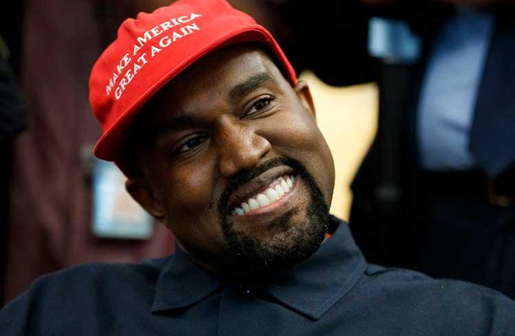 Rapper aberto ao Bitcoin Kanye West concorrerá à presidência dos EUA
