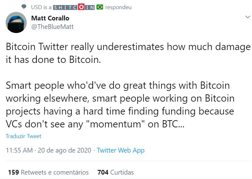 Crítica ao Crypto Twitter