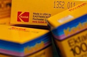 Ações da Kodak desabam 45% após perder contrato com os EUA