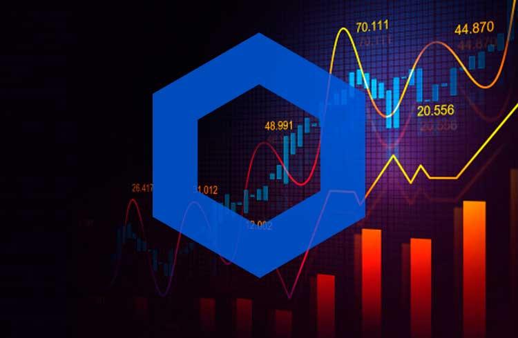 Chainlink se torna a quinta maior moeda em valor de mercado