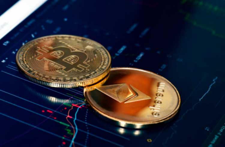 Coluna do TradingView: Bitcoin tropeça enquanto o Ethereum pode disparar