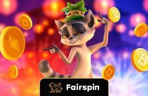 Fairspin Blockchain Casino: jogos ao vivo e bônus especial