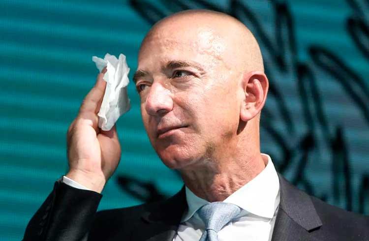 Fortuna de Jeff Bezos equivale a todos os Bitcoins existentes no mundo