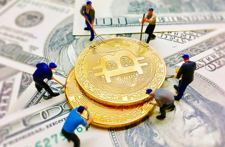Mineração de Bitcoin é 7% mais lucrativa em julho