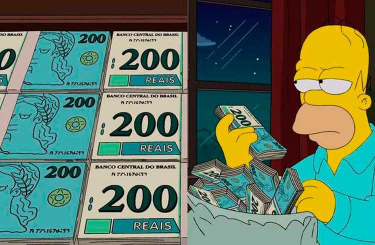 Nota falsa de R$ 200 já circula no Rio de Janeiro