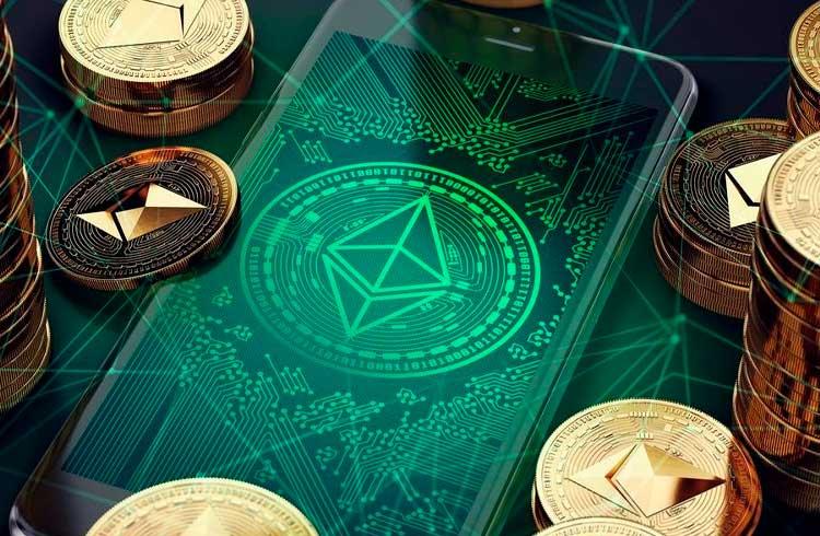 Número de carteiras acumulando Ethereum aumenta durante valorização