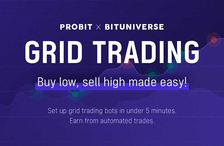ProBit Exchange completa integração na BitUniverse; Agora traders podem ativar automaticamente o Grid Trading