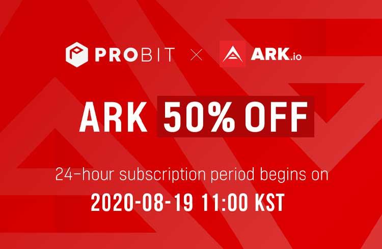 2ª venda da ProBit Exclusive apresenta ARK com 50% de desconto e maior alocação para PROB stakers