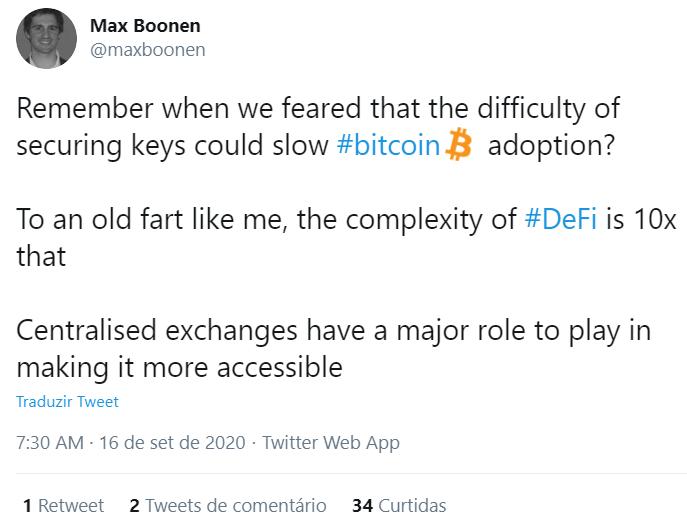 Max Boonen sobre o DeFi