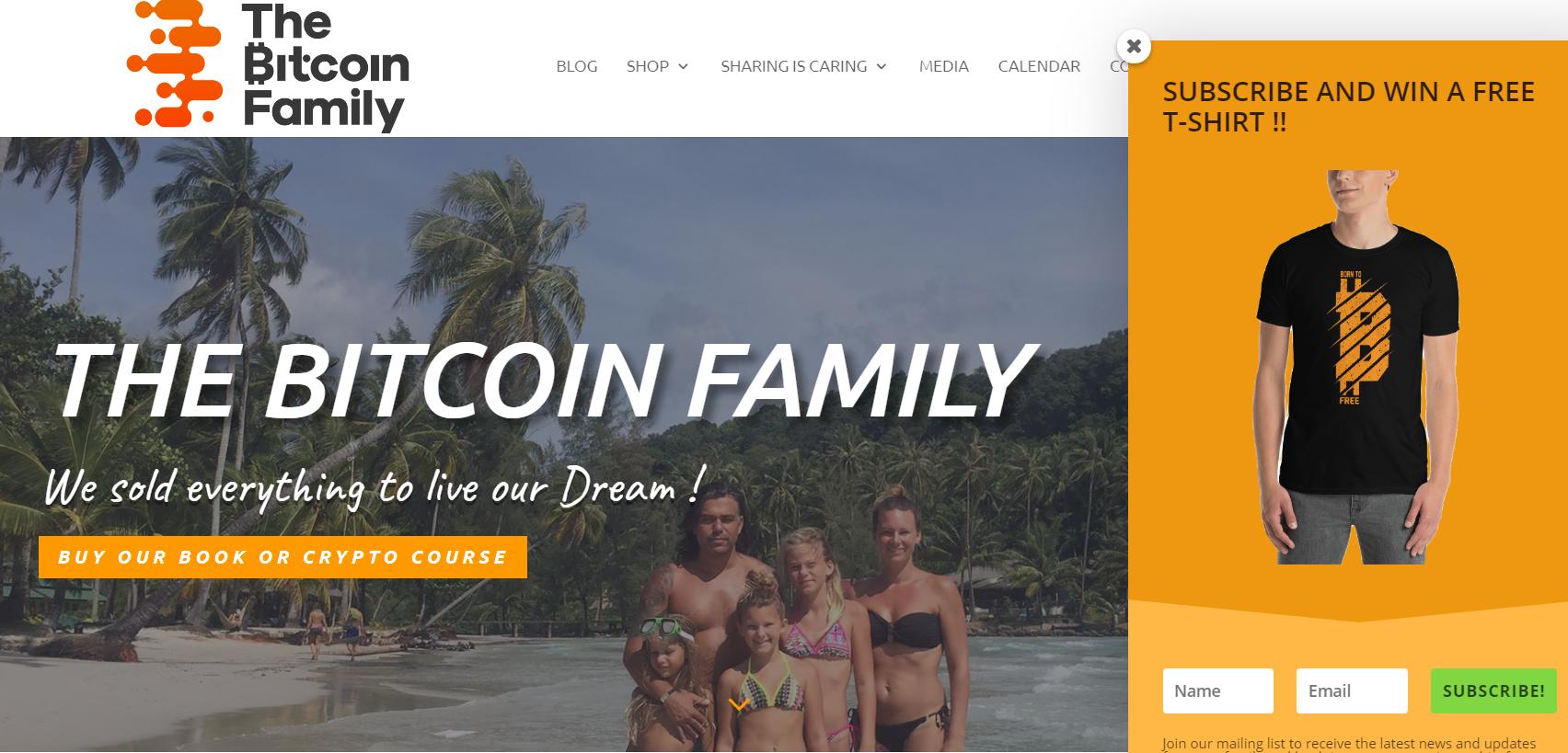Site da Família Bitcoin